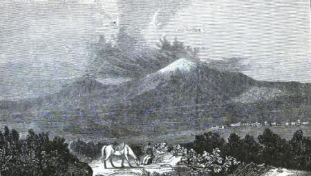 """""""Ararat from Kanakir"""" from Friedrich Parrot`s book """"Journey to Ararat"""", English translation by W.D. Cooley, New York, 1846"""